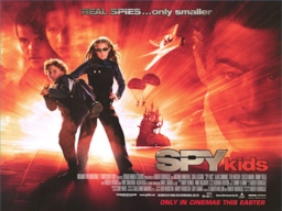 Sortie DVD du film Spy Kids de Robert Rodriguez / DVD Release of the movie Spy Kids by Robert Rodriguez