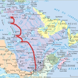 Préparation d'un tournage prévu à Puvirnituq dans le Nord du Québec / Preparation of a shoot to take place in Puvirnituq in Northern Quebec