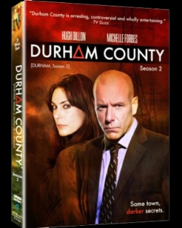 Diffusion de la série Durham County d'Adrienne Mitchell, saison 2 / Broadcast of the tv series Durham County by Adrienne Mitchell, season 2