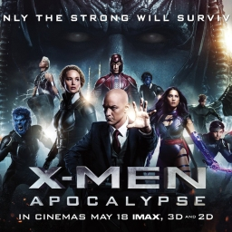 Scène d'action à couper le souffle pour X-MEN : APOCALYPSE ! / Breathtaking action scene for X-MEN: APOCALYPSE!