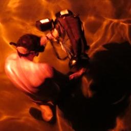 Tournage en piscine pour une nouvelle émission télévisée / Pool shoot for a new tv show