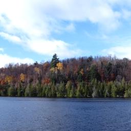 Repérage dans un lac / Location scouting in a lake