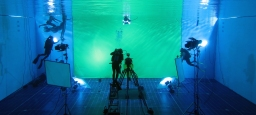 Acquisition d'un green screen sous-marin / Acquisition of an underwater green screen