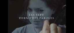 Première exclusive du film Les sept dernières paroles / Exclusive Premiere of the film The Seven Last Words